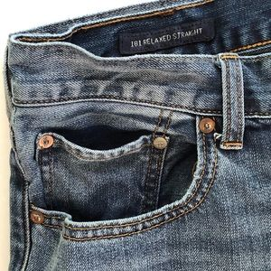 "Lucky Brand Jeans - Lucky Brand | 32"" 181 Relaxed Straight Denim Jeans"